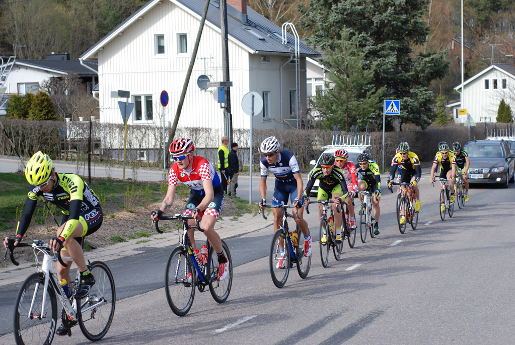 Aleksi working in the breakaway (picture by Klaus von Wendt)