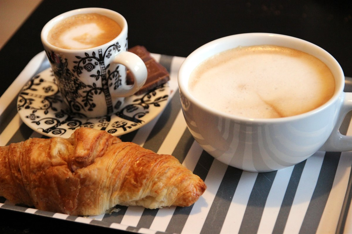 You don't have to go to the cafe to get proper coffee ;)