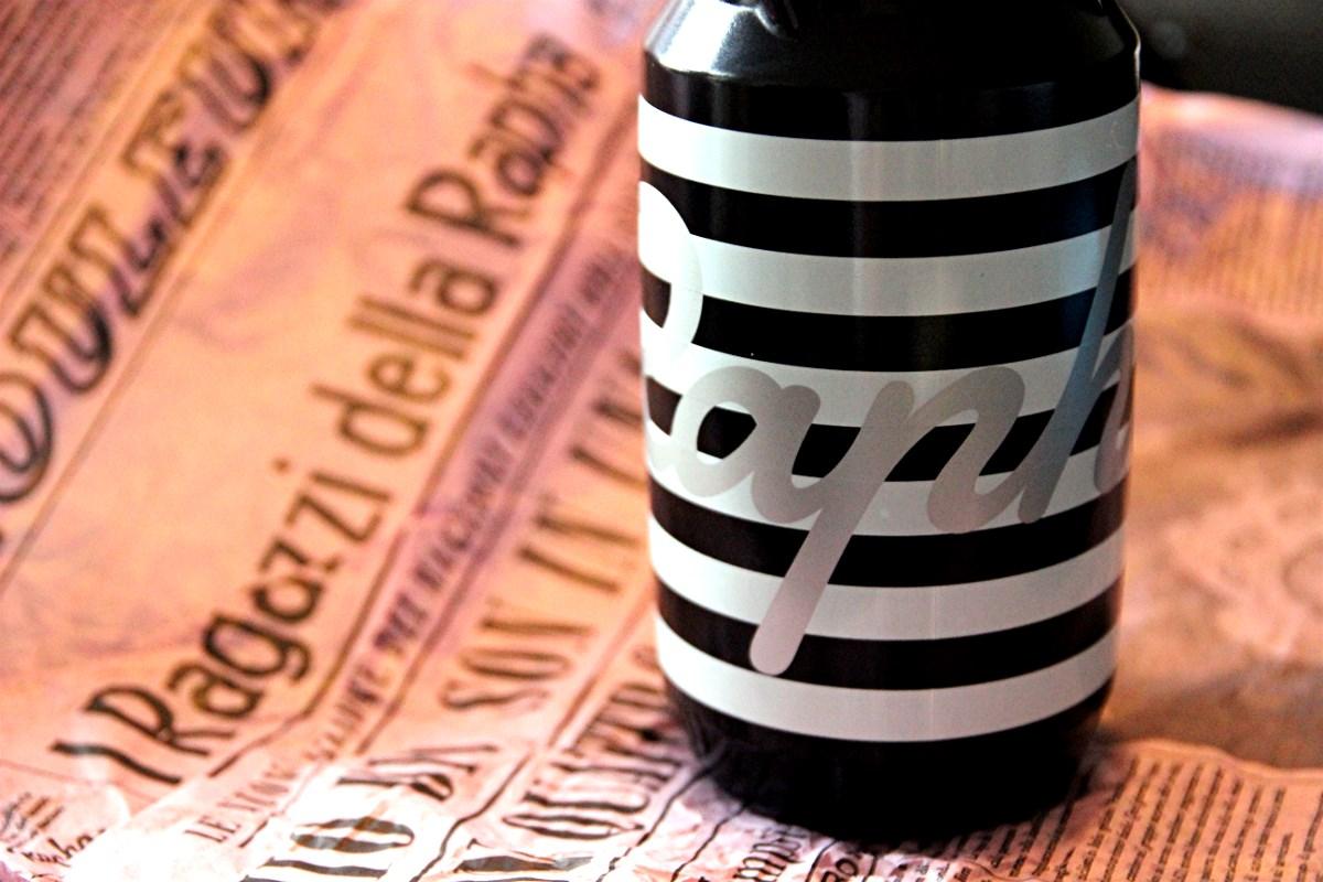 The Rapha Brevet Bidon - black & white