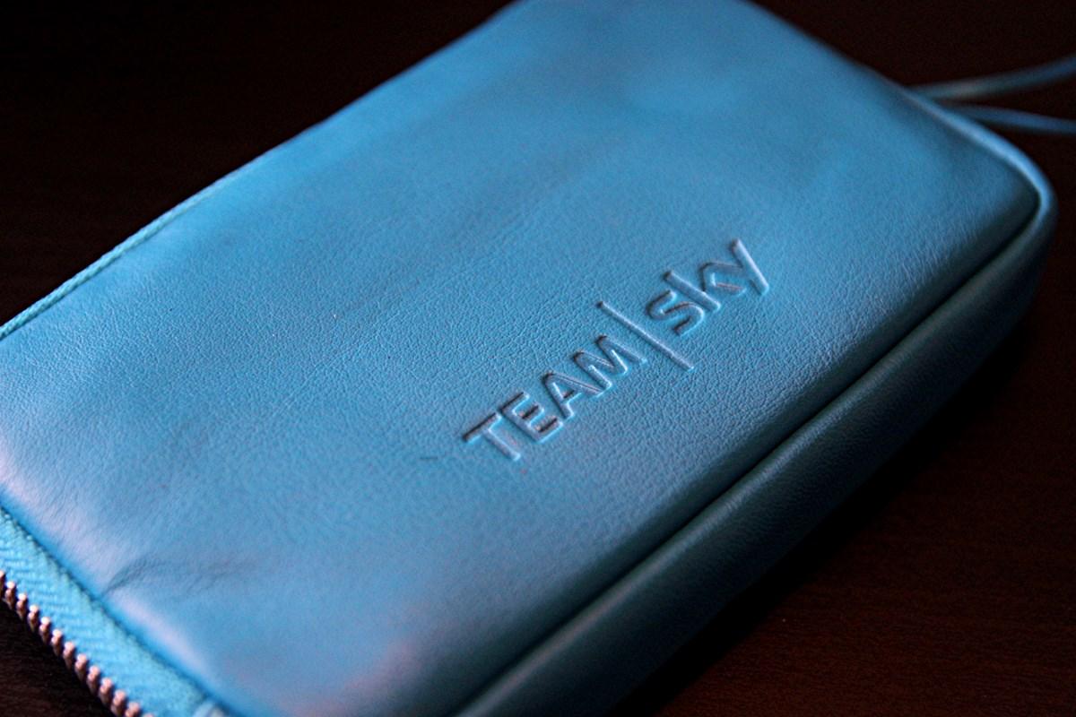 Team Sky blue Rapha Essentials Case