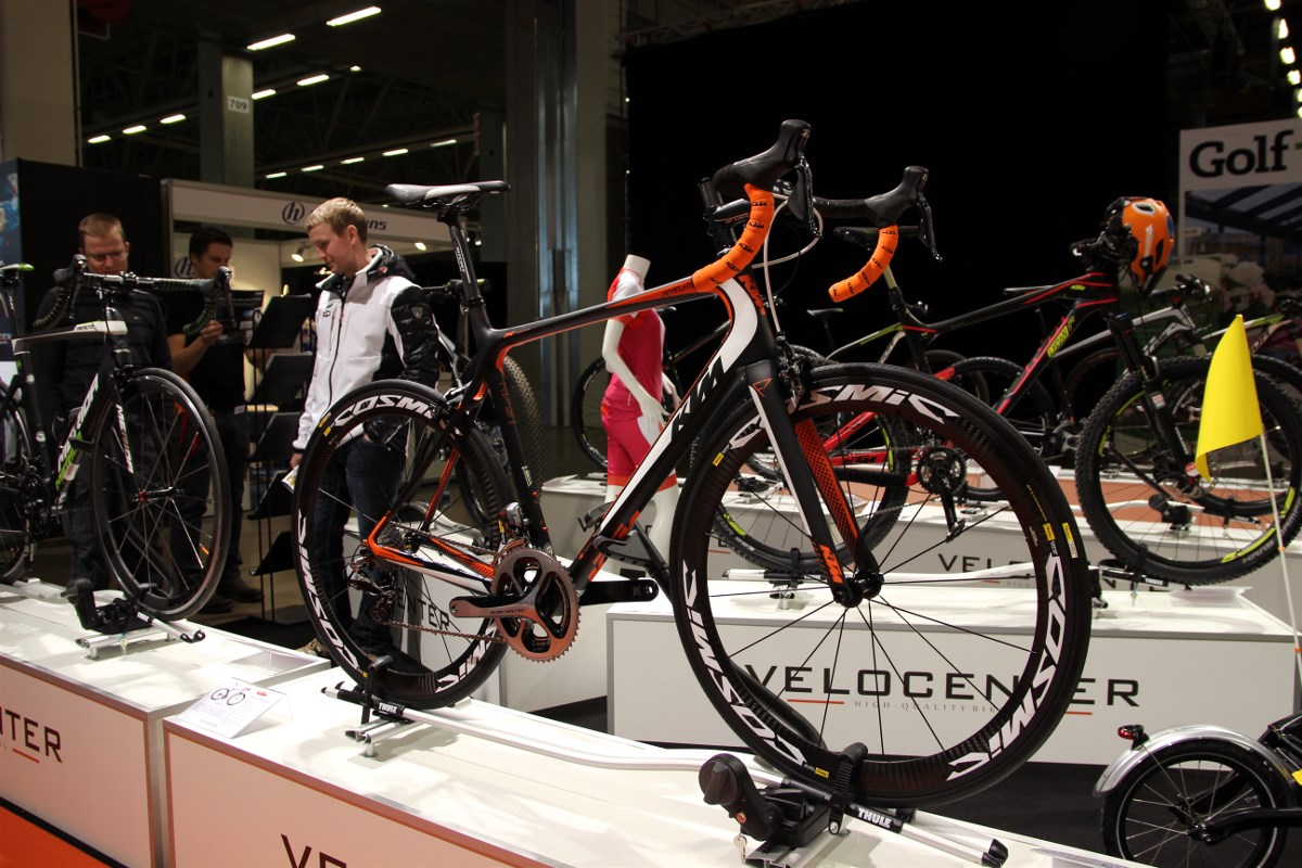KTM has a new range of road bikes that really look good and fast