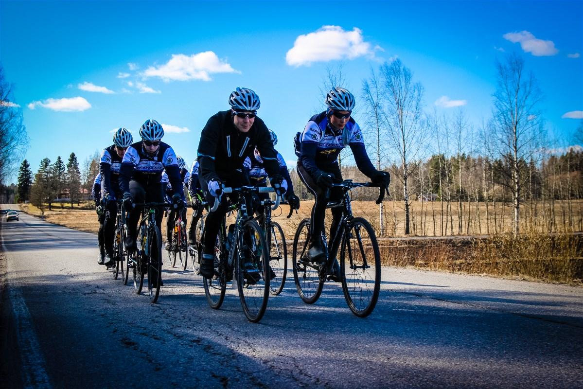 Kimmo Kananen took the boys out for a ride