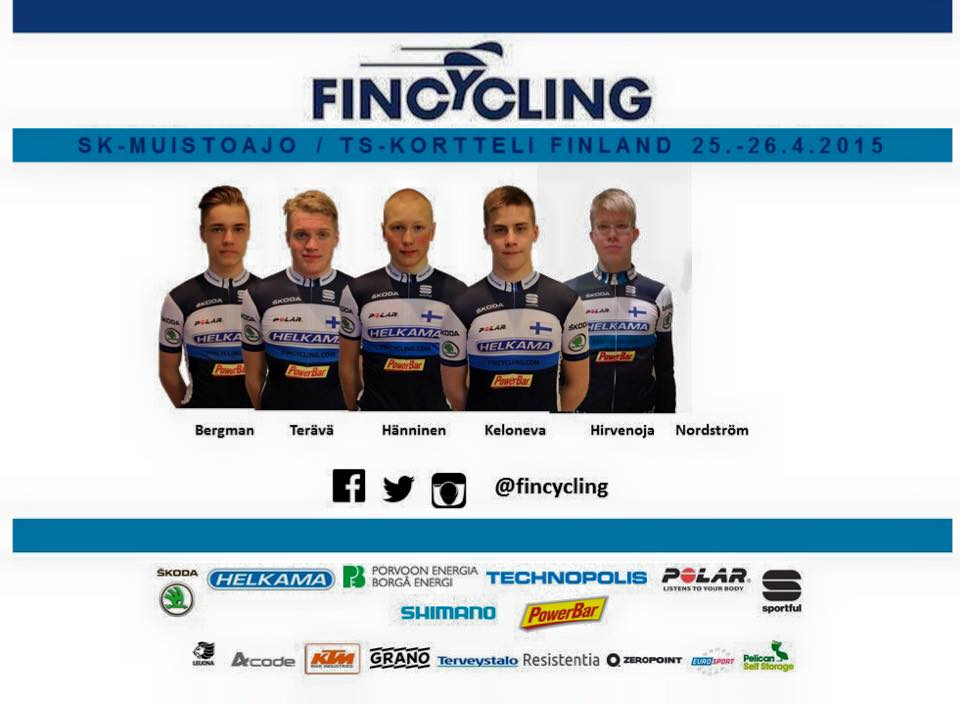 Fincycling team for the Turku weekend