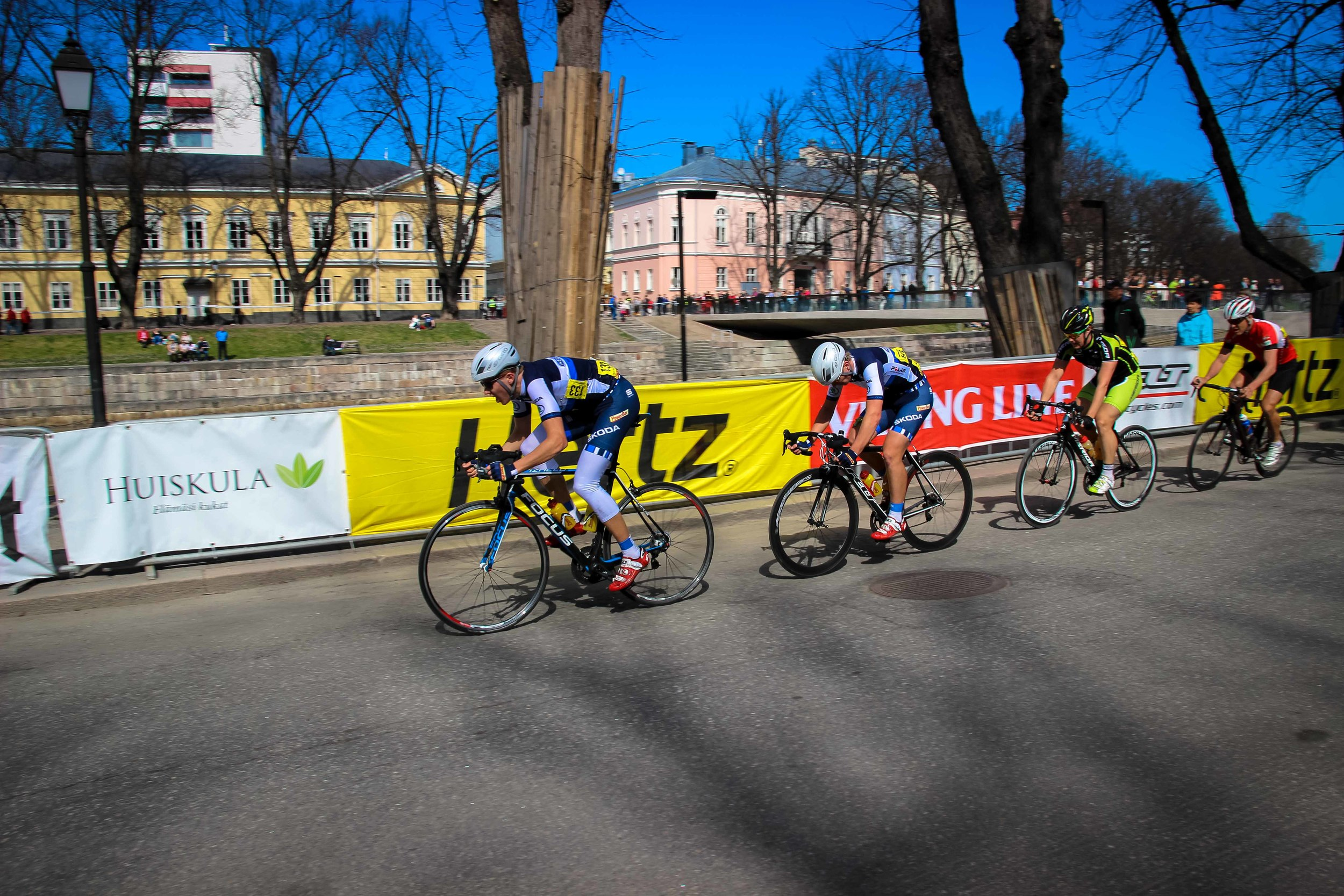 Fincycling rode really strong in the 2014 TS Kortteliajot