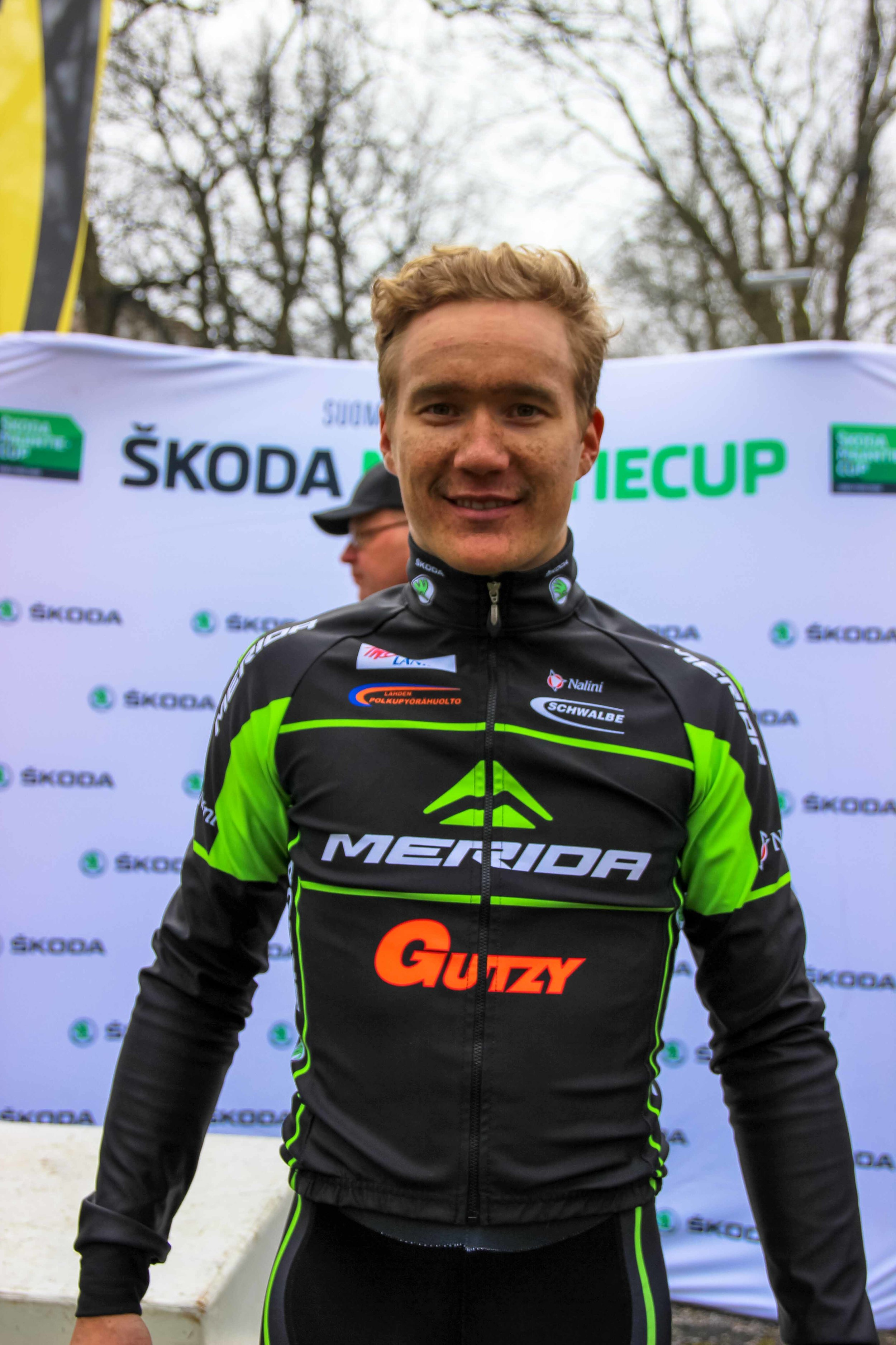Roope Nurmi seemed pleased with the overall win, despite being second today