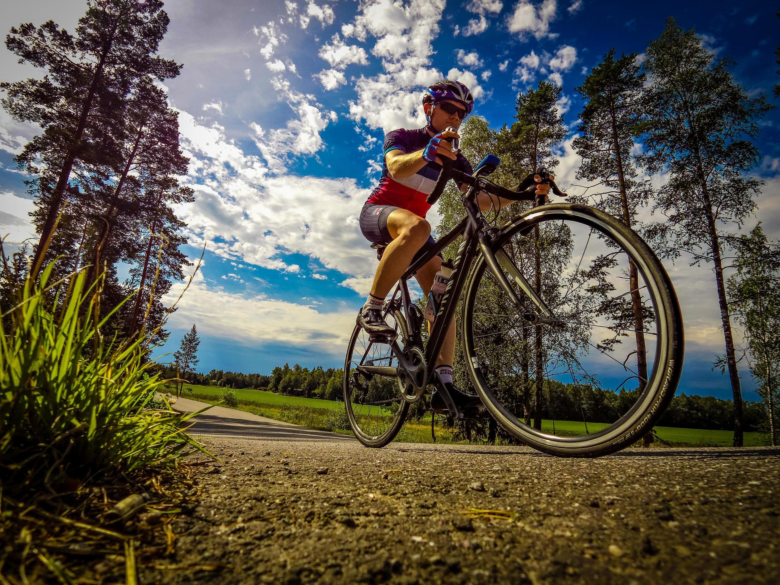 Cycling in ohensaari
