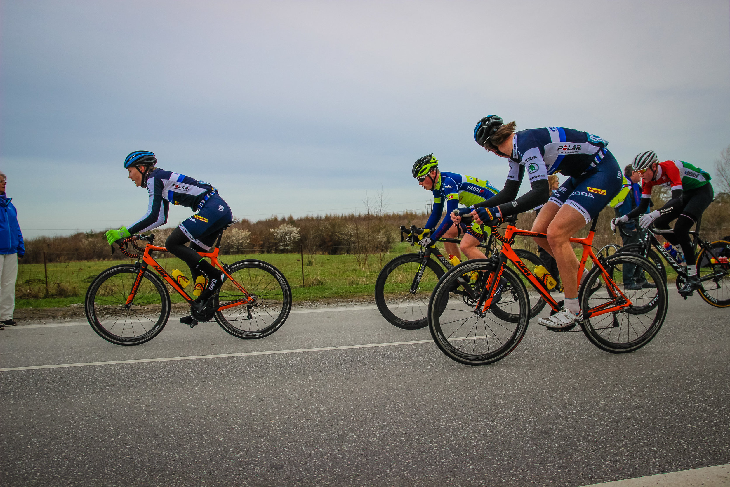 Skoda Fincycling controlling the race early on