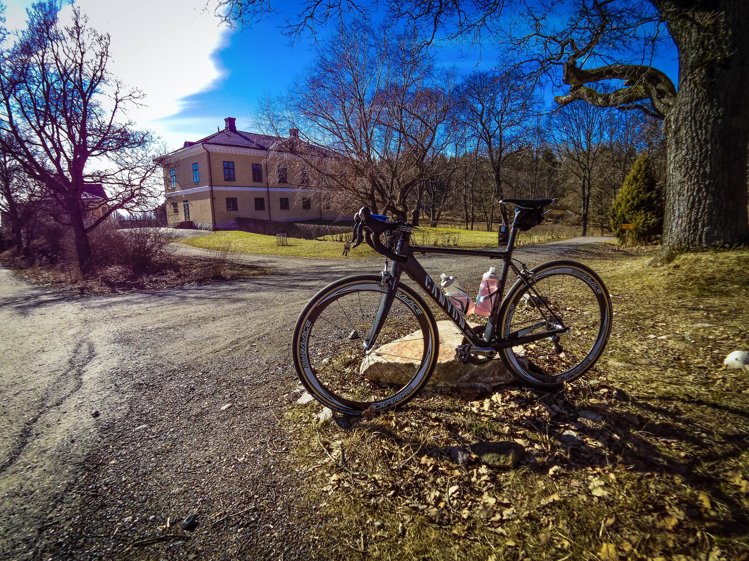 First long ride of the year, including a visit to Hovimäki