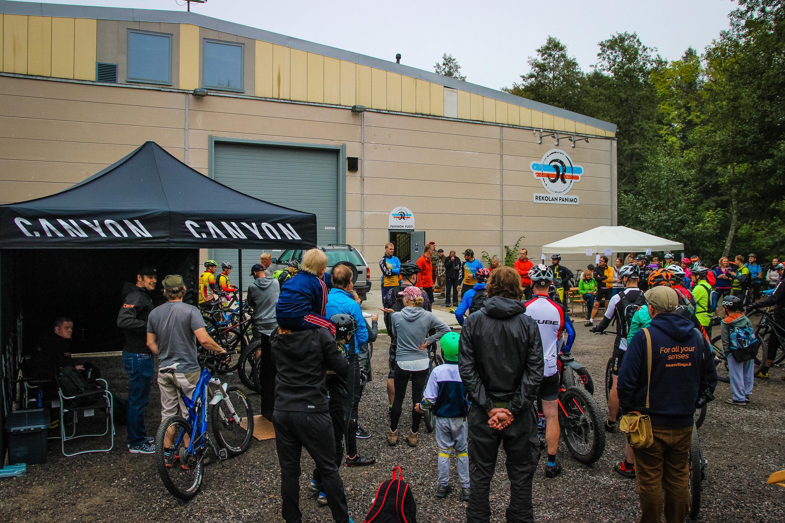 Fiskars Village Trail Center opening event