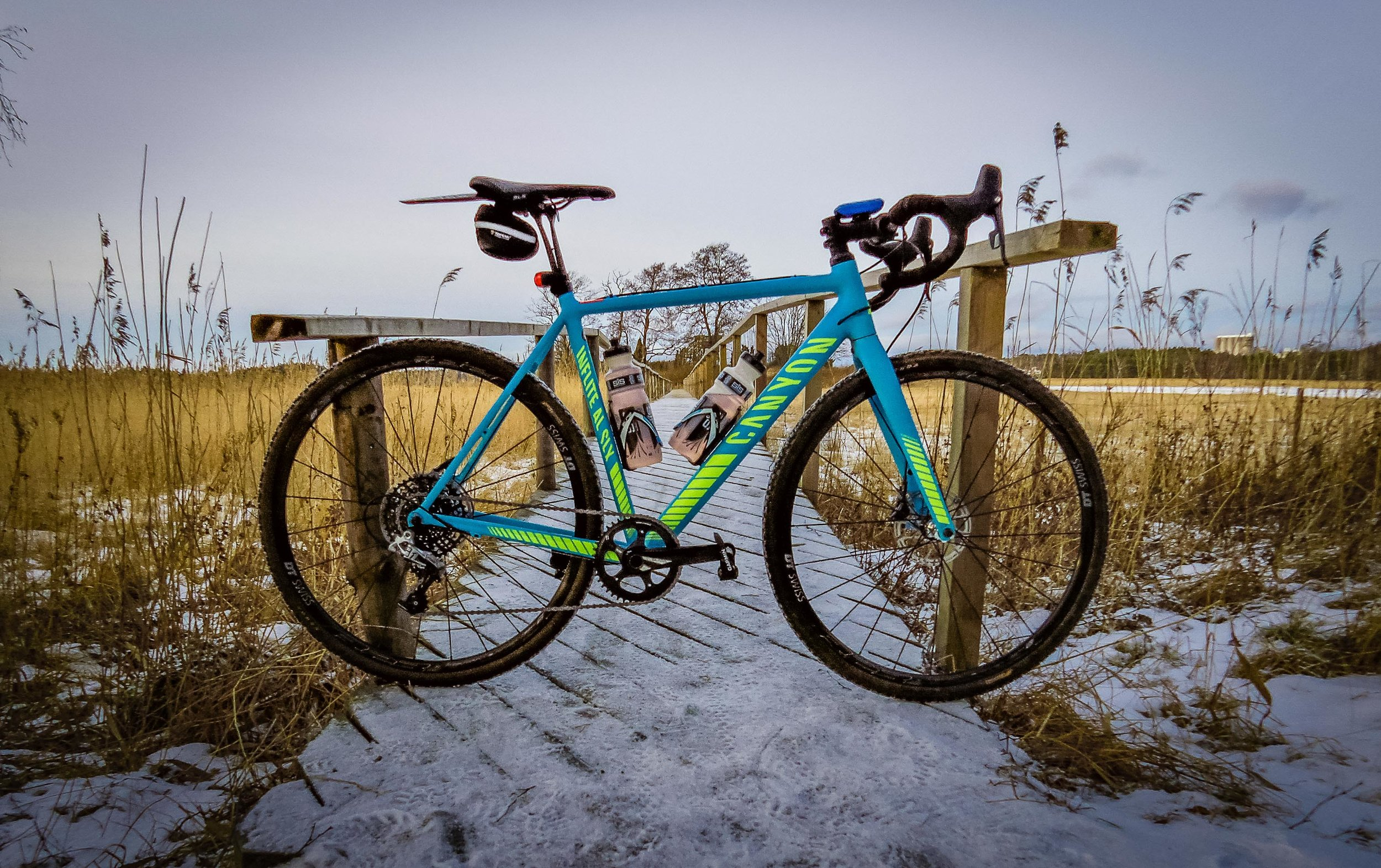 The year started well, riding outside with the Canyon Inflite AL SLX. A superb cyclocross bike.