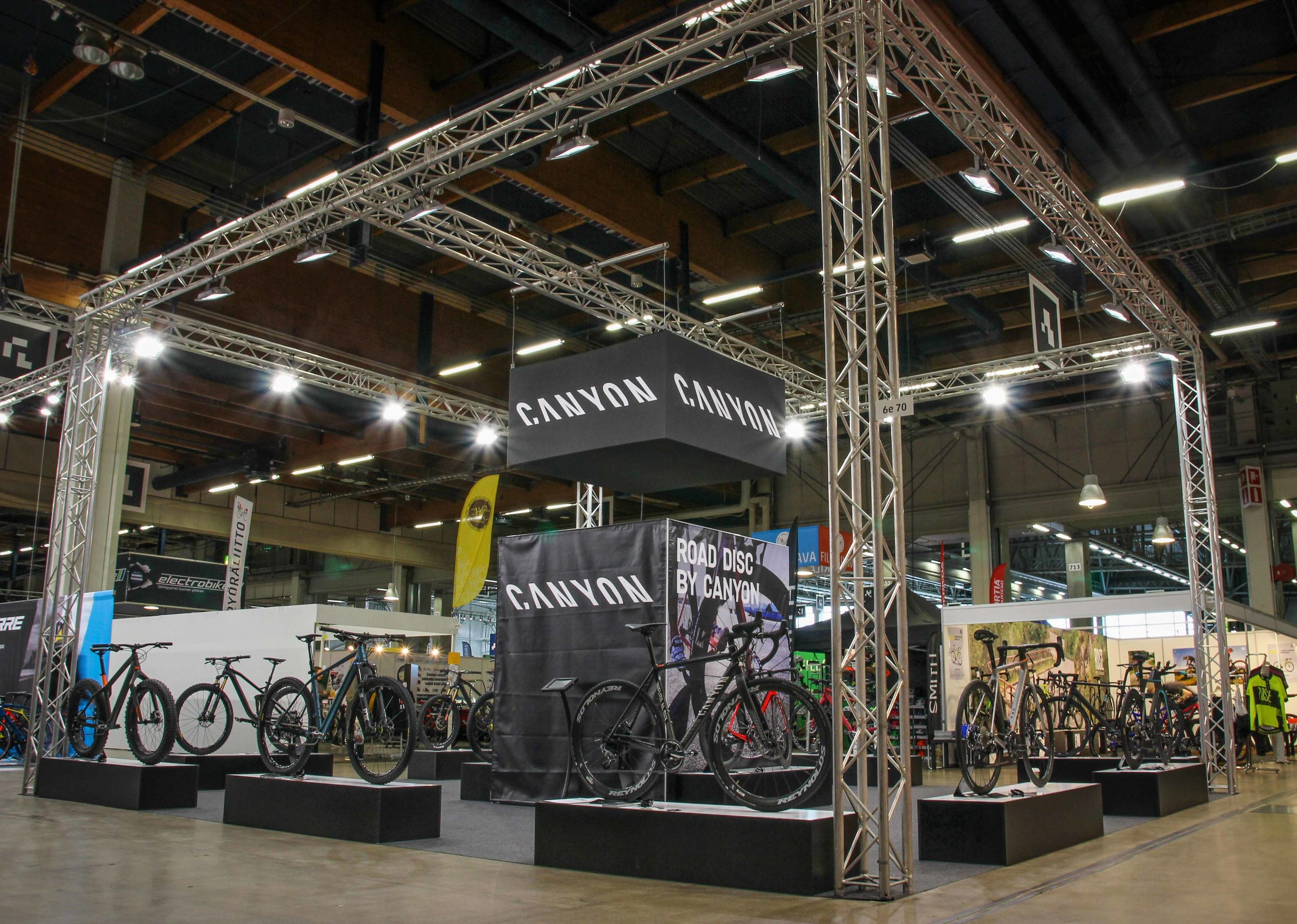 March was the date for the big bike-fair in Helsinki.