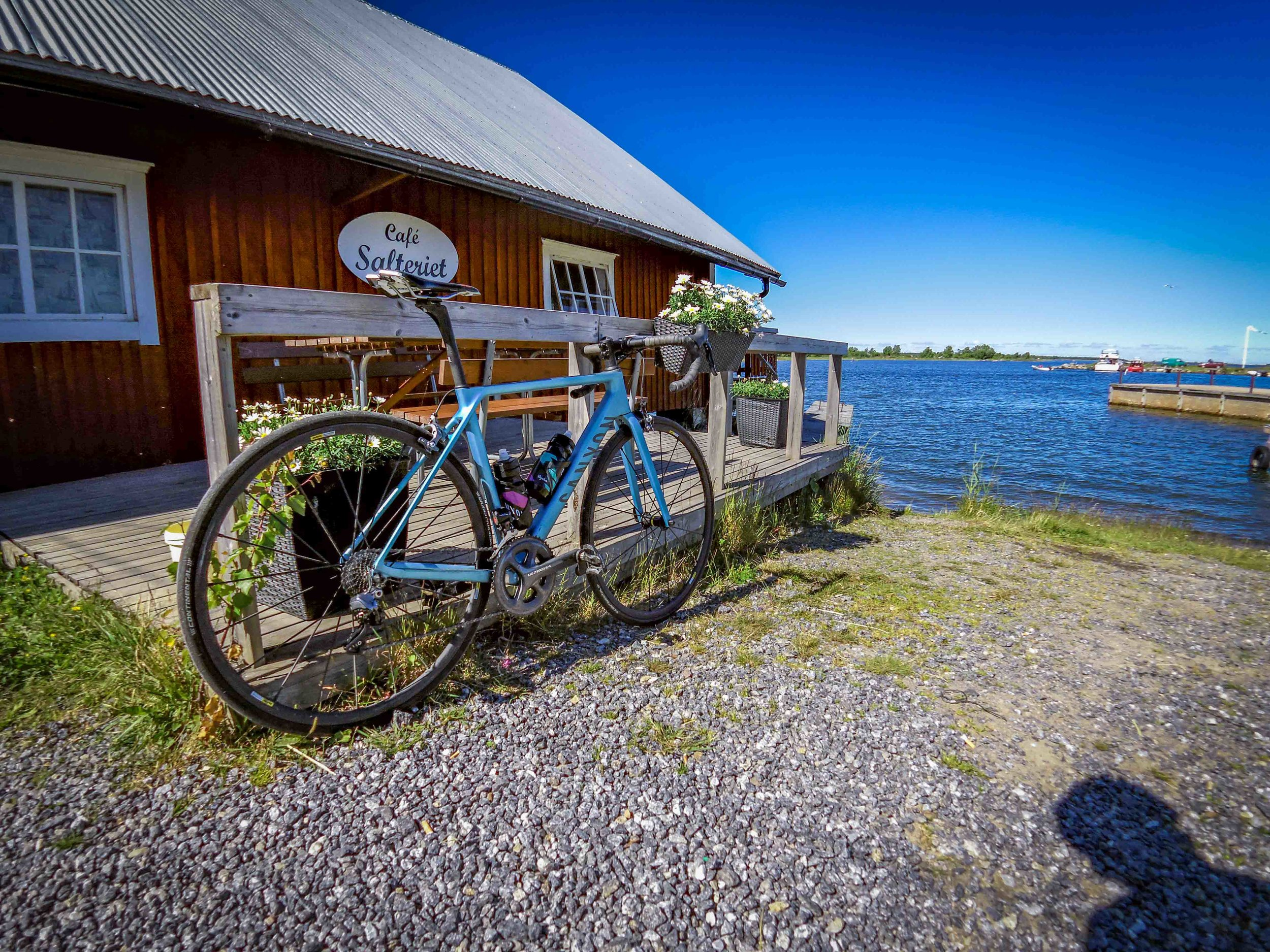 In july we took a weekend-trip to Vasa, and I had the chance to smash a great 90 km ride in superb weather.