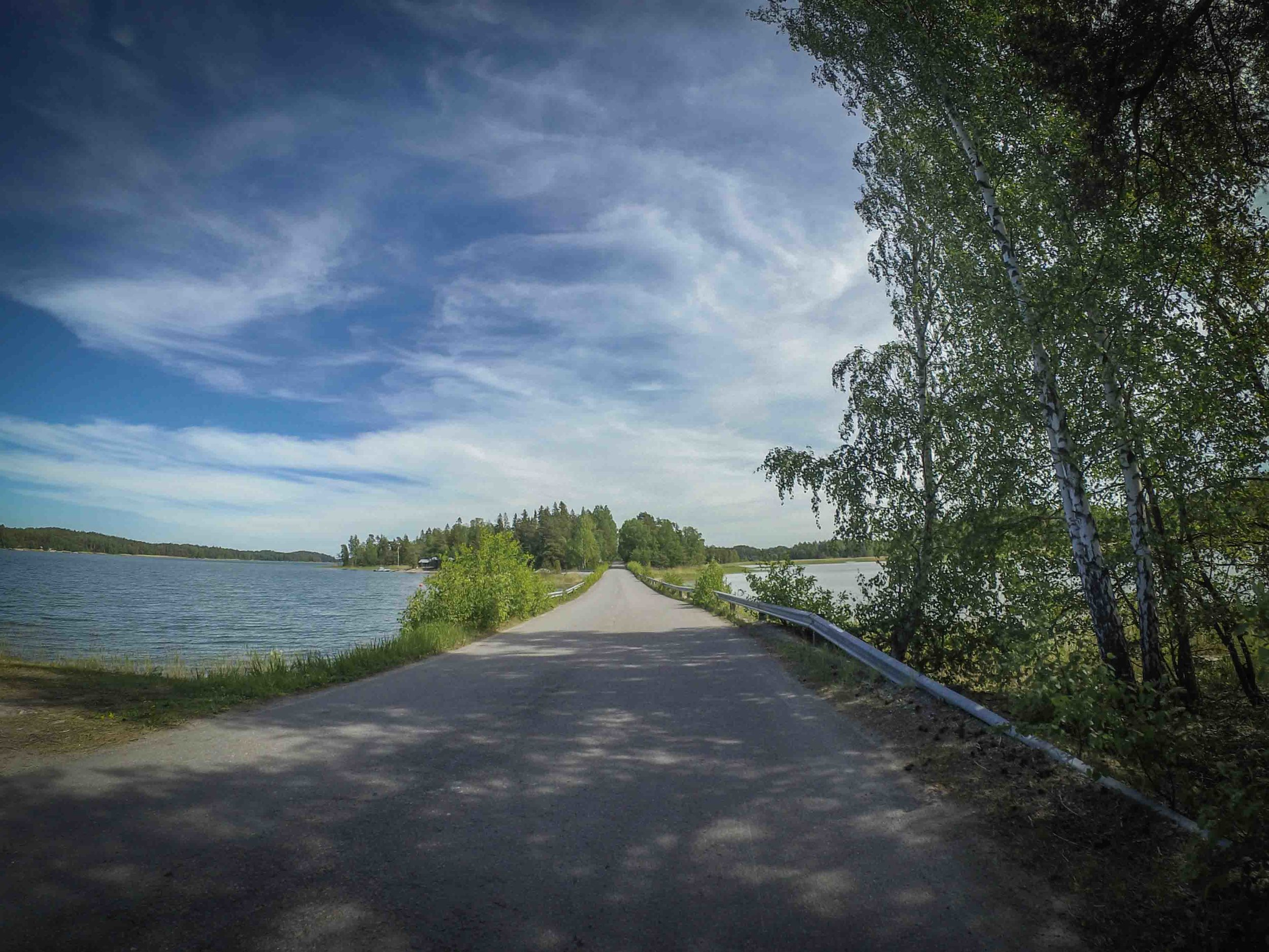 My first ride to the Archipelago this year was May 27th. A beautiful day it was!