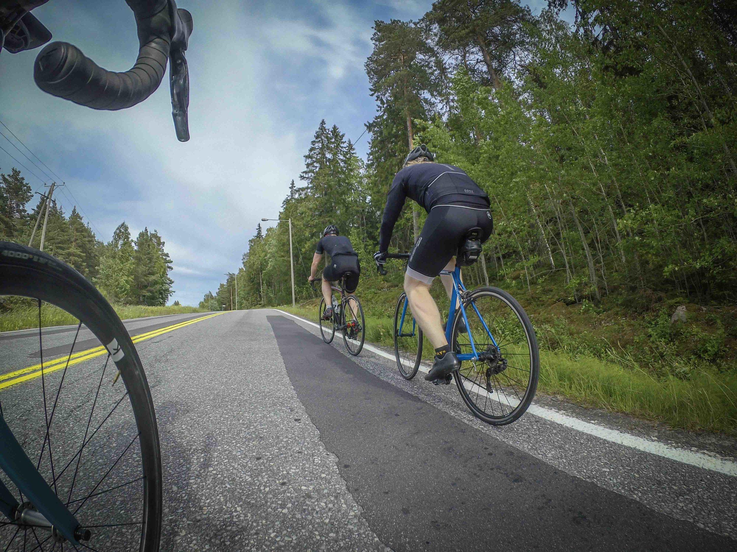 In June we got a new (Canyon) rider to Turku. Welcome Oskari!