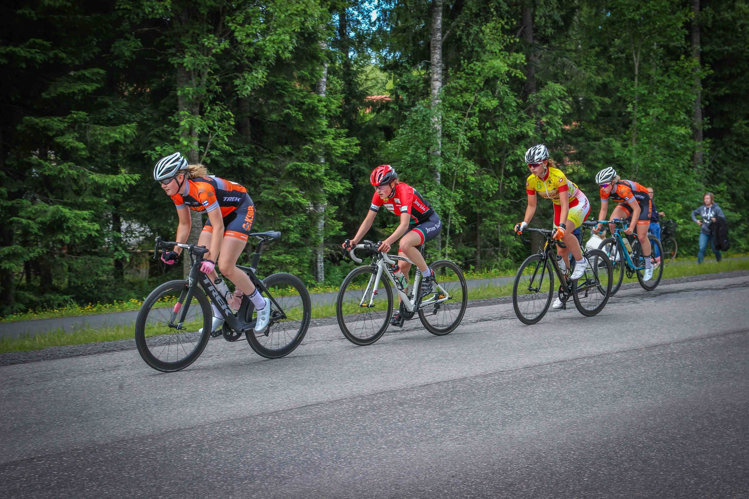 Finnish National Road Race Championships 2018 - Women's junior road race