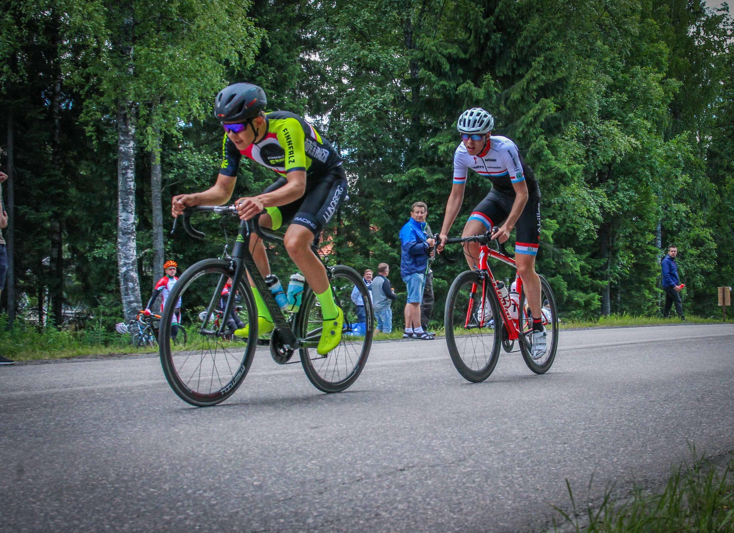 Finnish National Road Race Championships 2018 - Men's junior road race