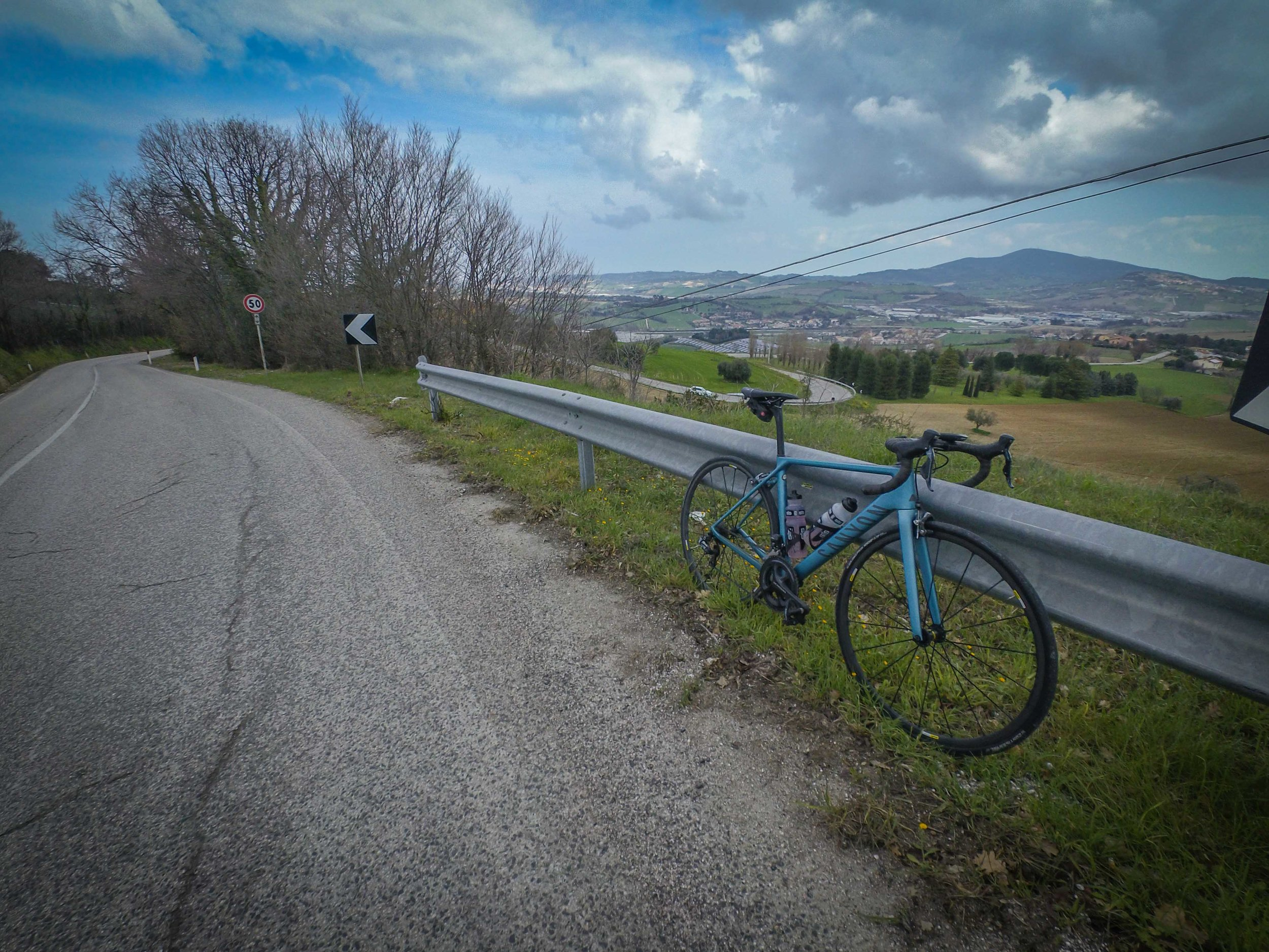 Marche really has some enjoyable small hills to ride
