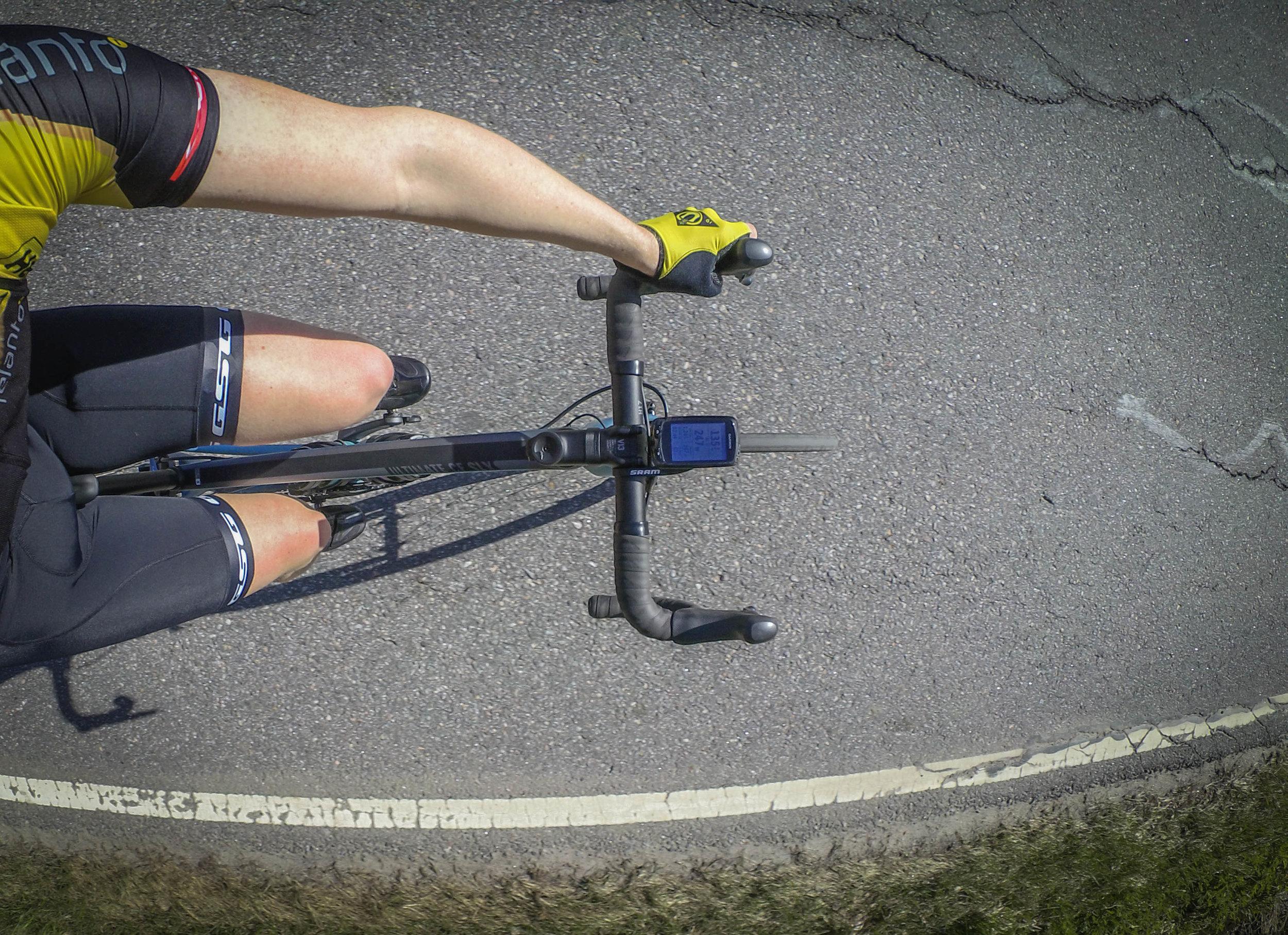 First ride in short sleeves was ridden around Kakserta, May 9th.