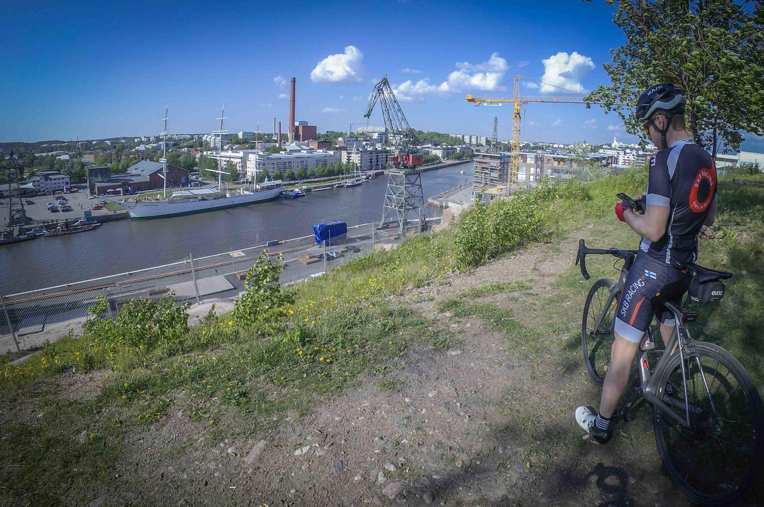 On top of Turku