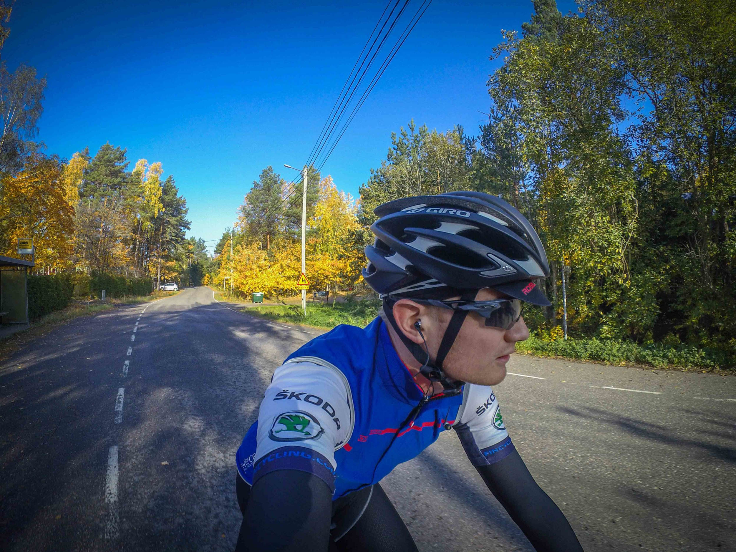 Last ride outdoors for 2018 was ridden October 14th