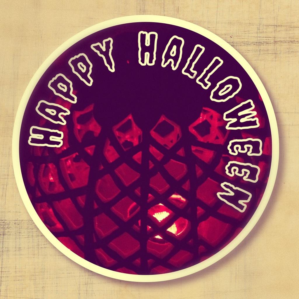 Halloween Pumpkin Card
