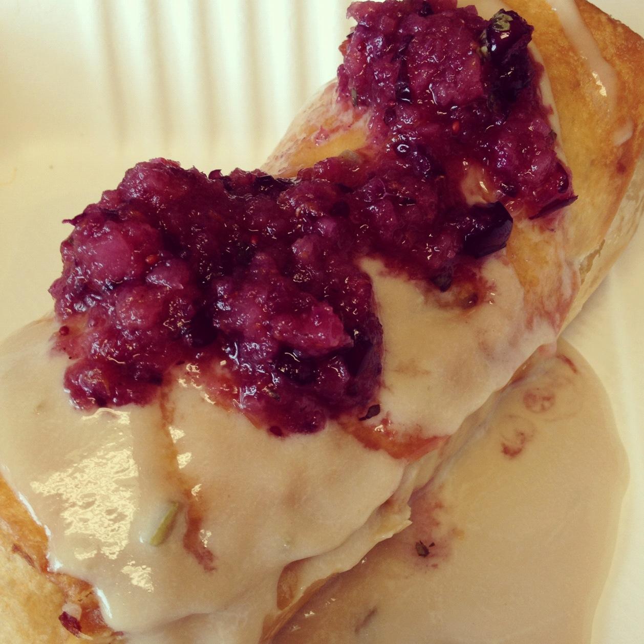 Turkeychanga - Flaming Amy's Burrito Barn