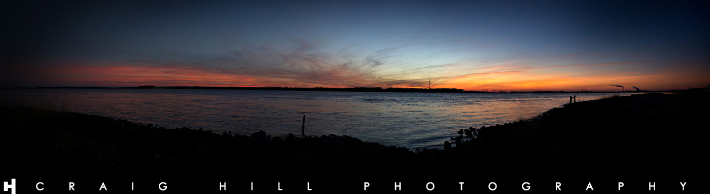 Sunset Pano