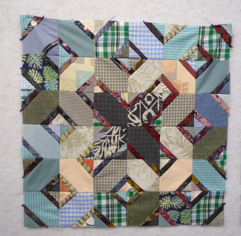 The 3rd of 3 memory quilt tops