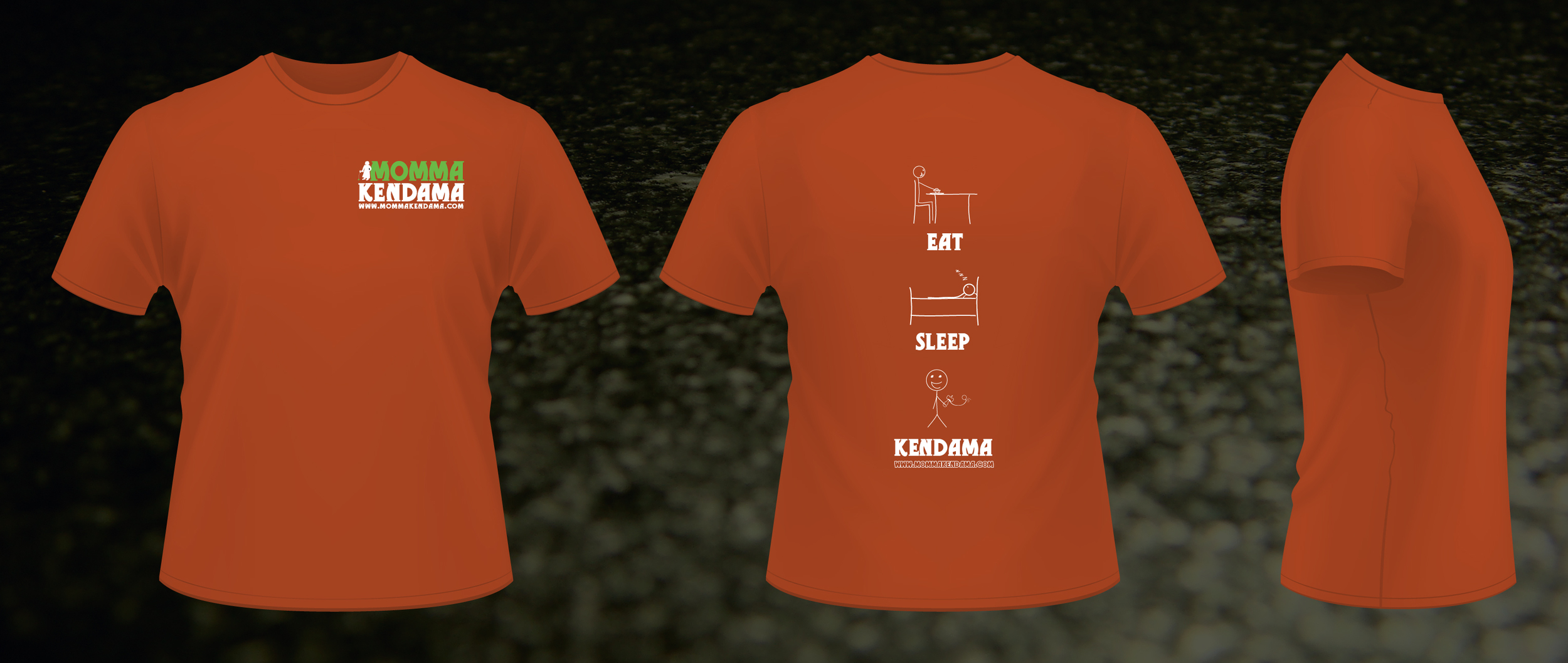 'eat. sleep. kendama.' t-shirt