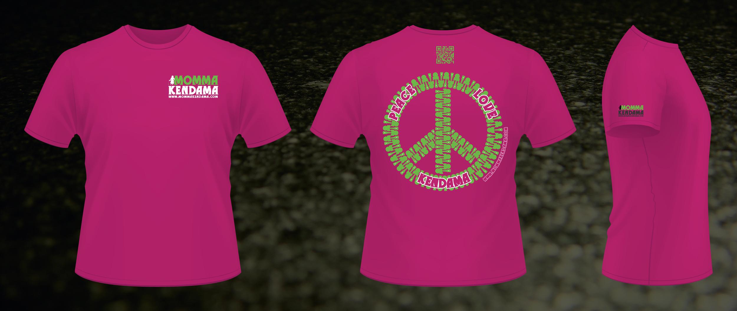 'peace. love. kendama.' t-shirt