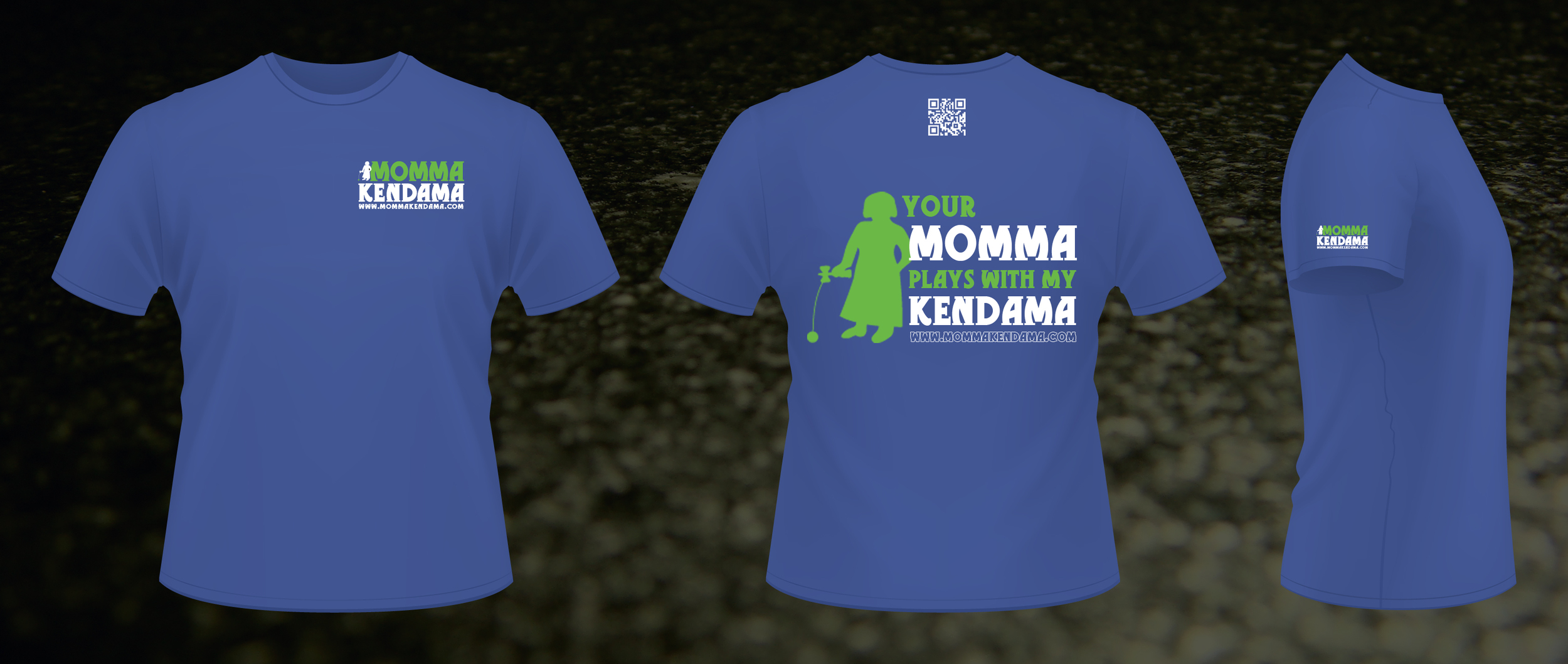 'your momma...' t-shirt