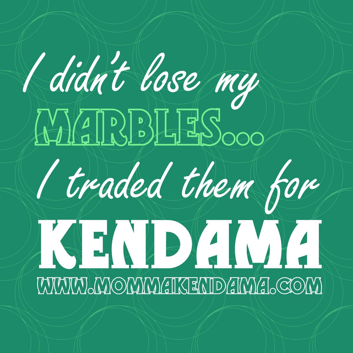 'i didn't lose my marbles...' sticker
