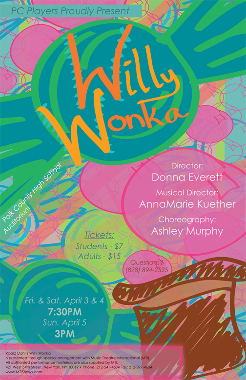 'willy wonka' poster