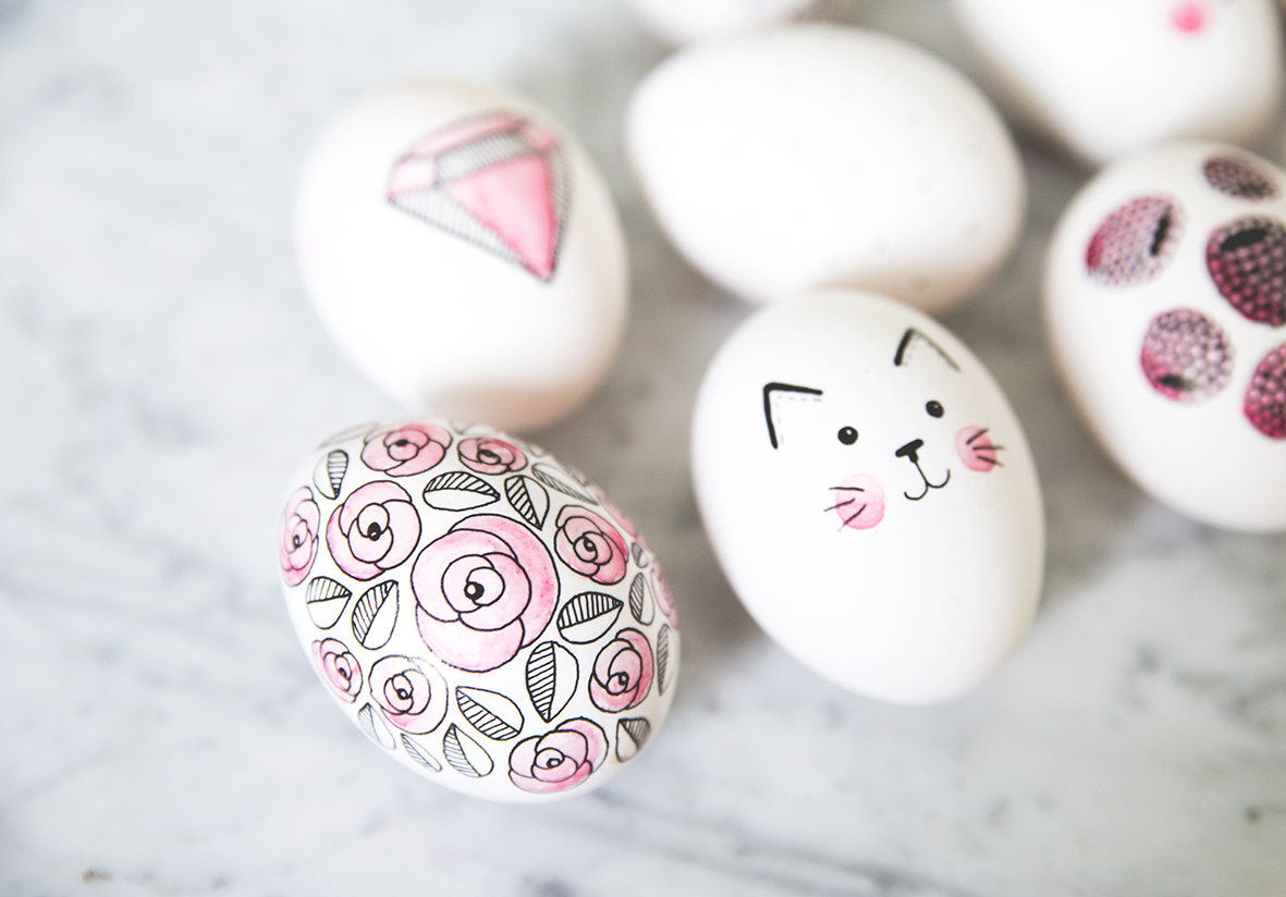 diy cute easter egg painting