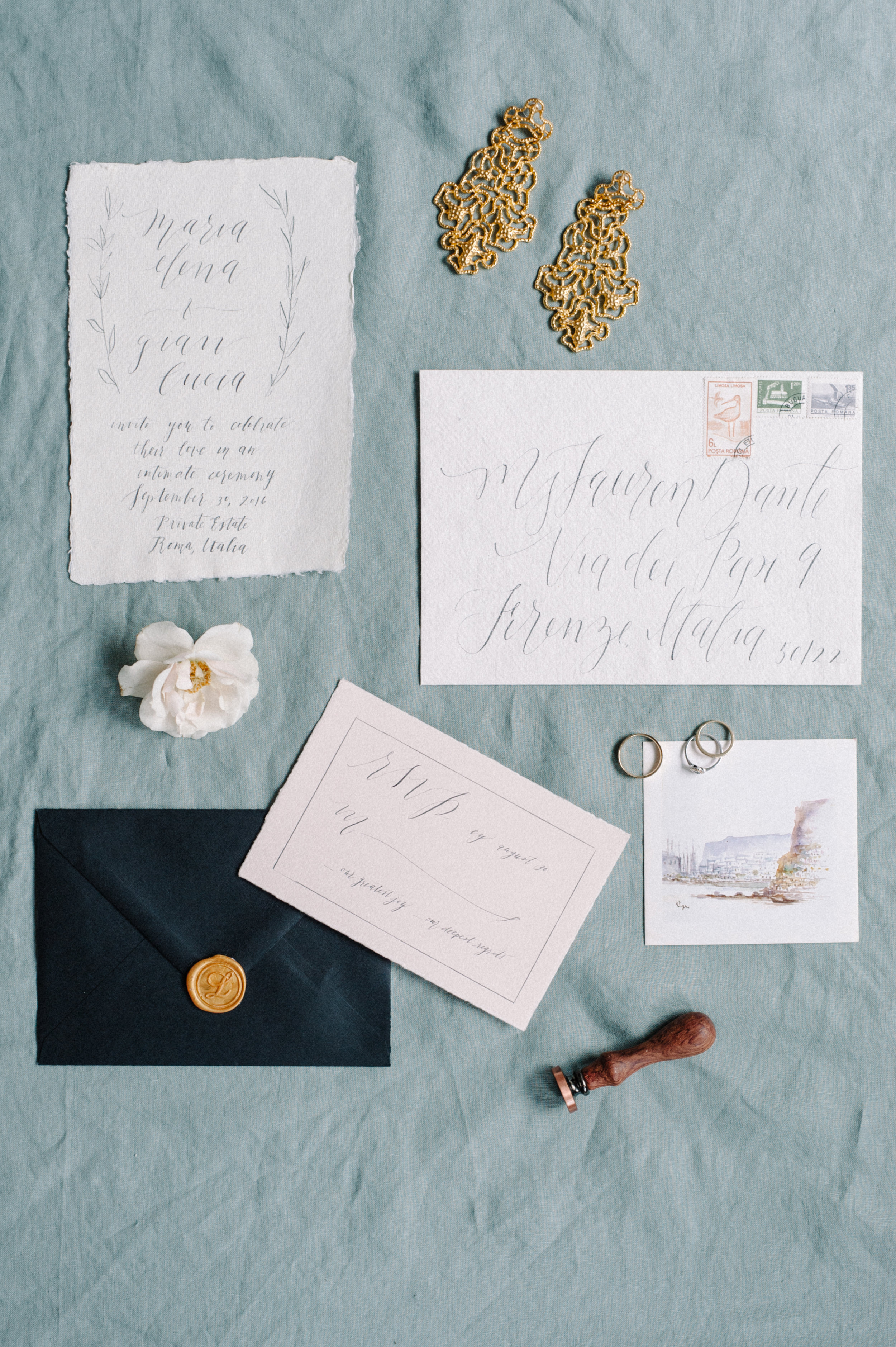 Wedding paper suite