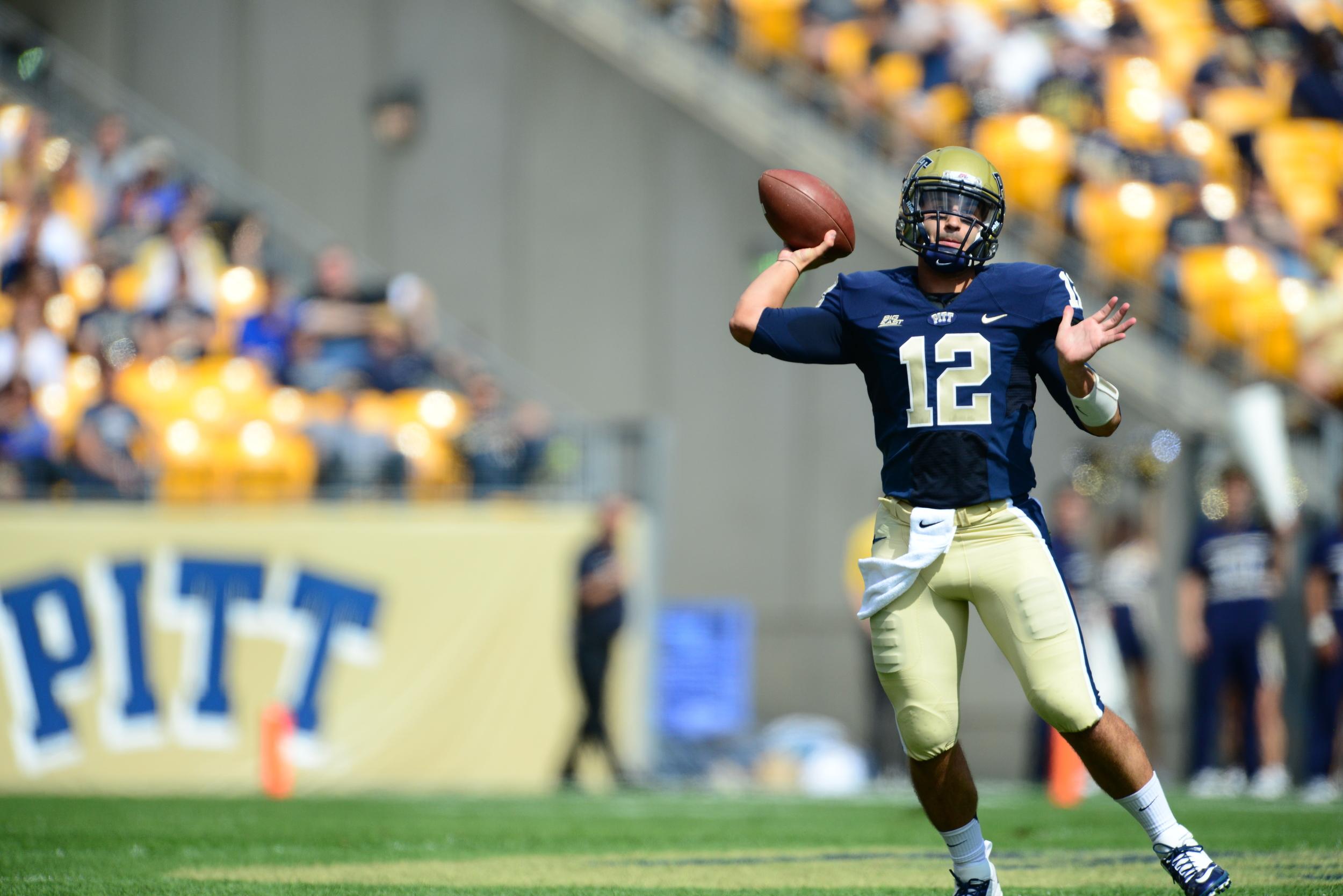 University of Pittsburgh Panthers' QB Tino Suneri