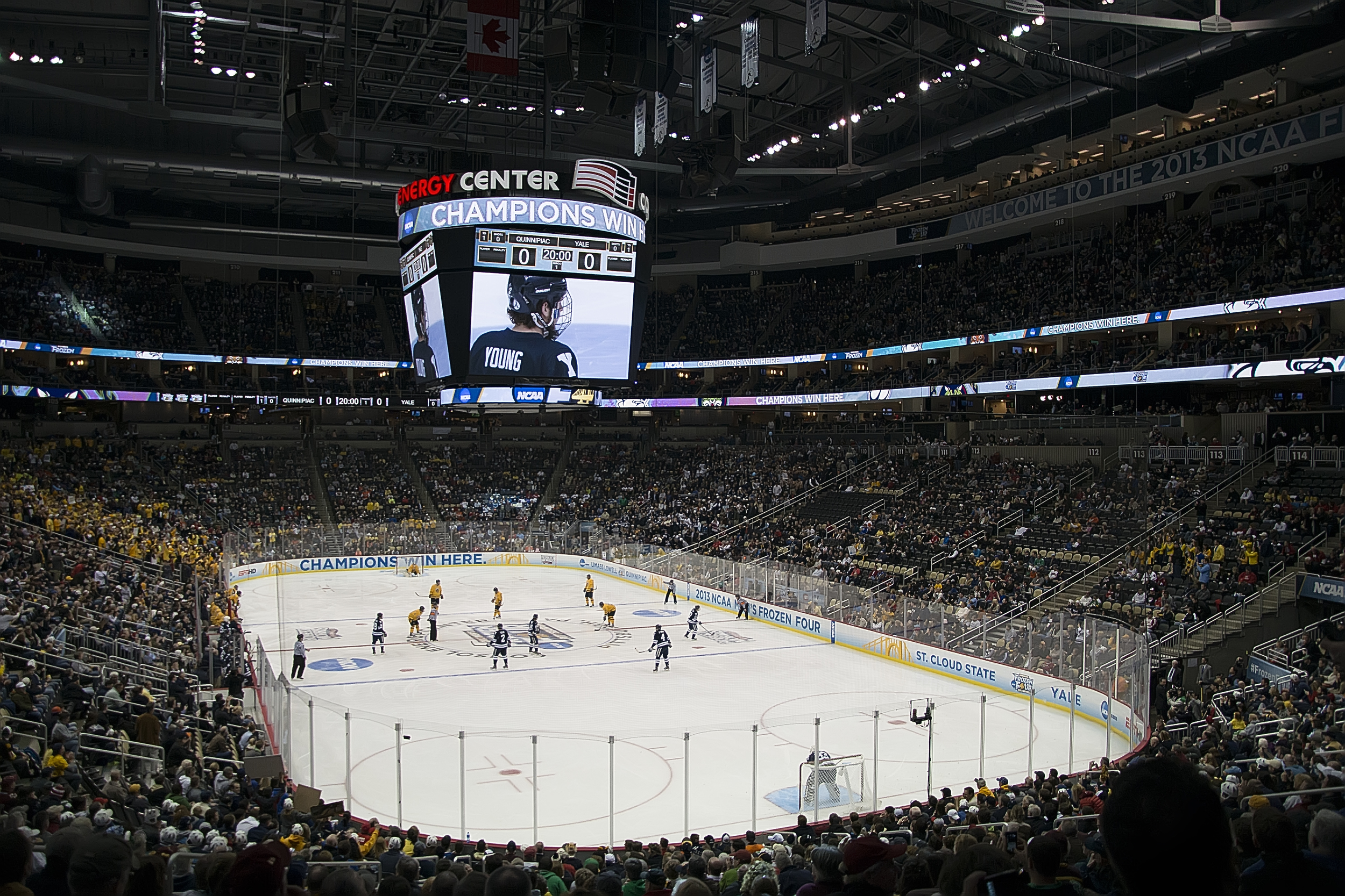 Consol Energy Center - NCAA Hockey National Championship Game