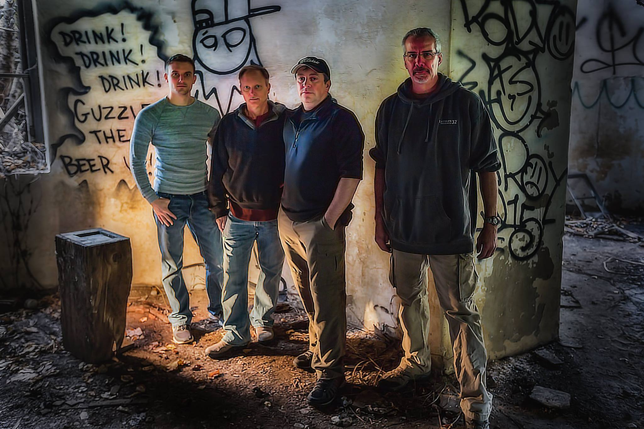 Urban Exploration Crew - photo by Dave Truxell