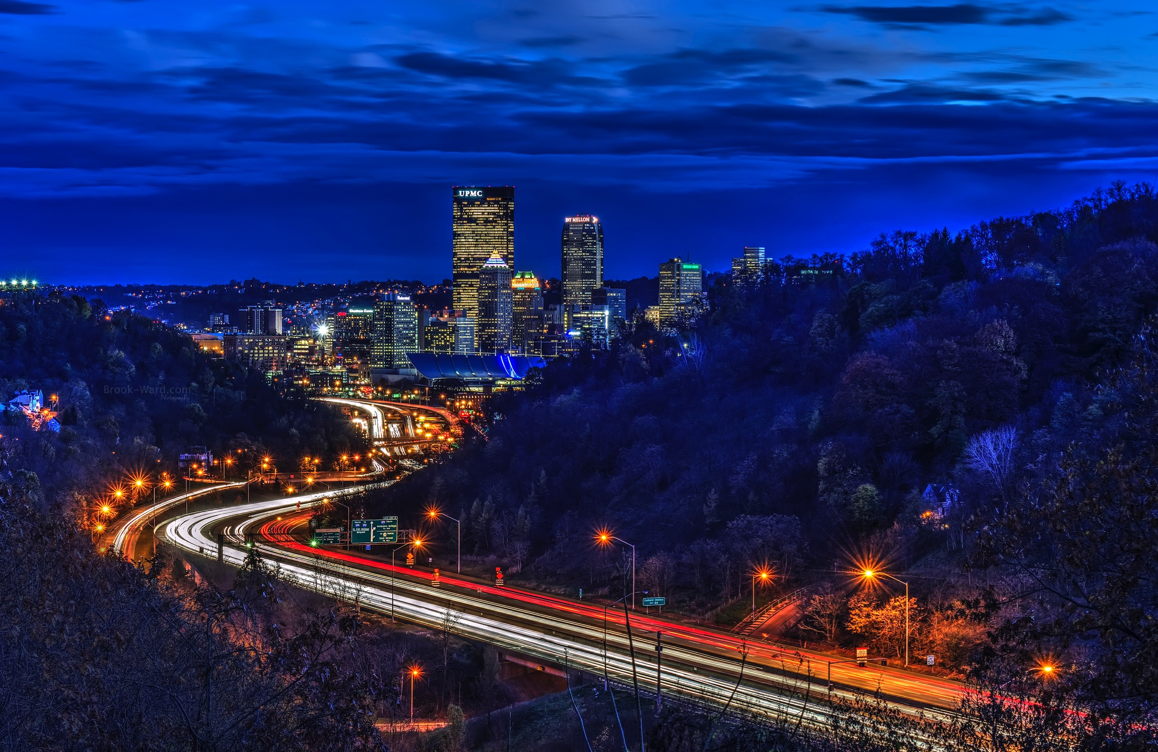 Light Trails - Pittsburgh