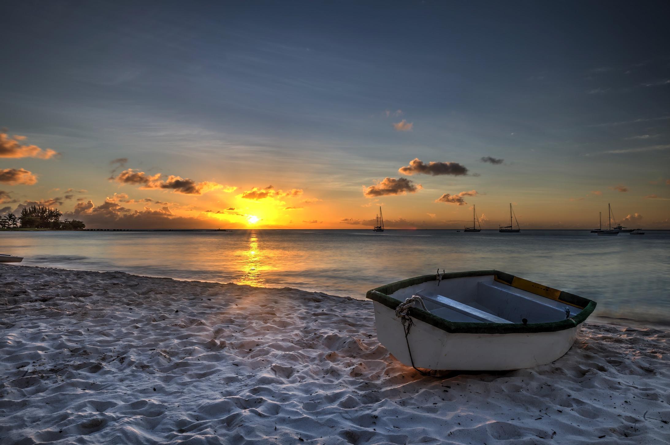 Barbados Row Boat