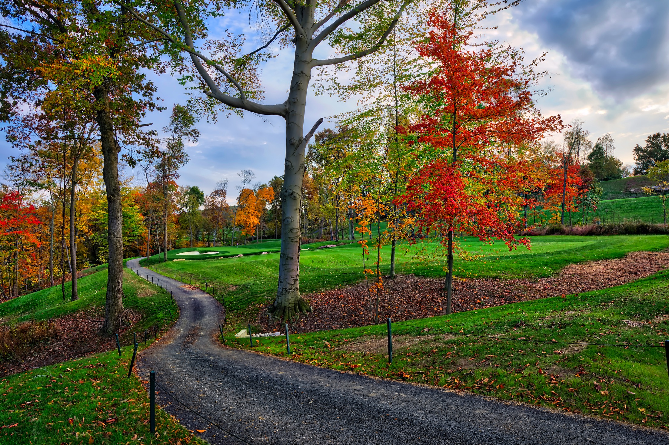 Valley Brook Country Club - Path