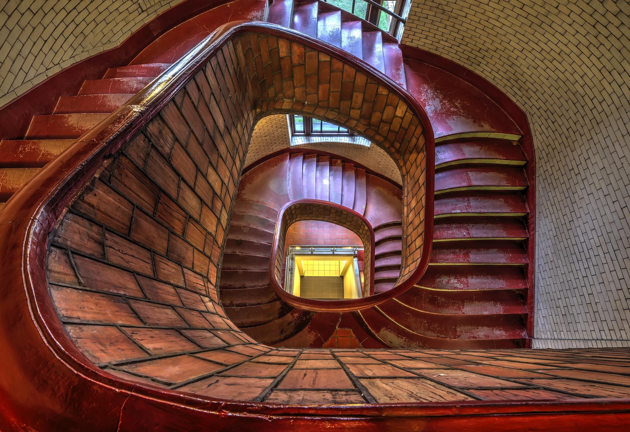 CMU Stairs - 2