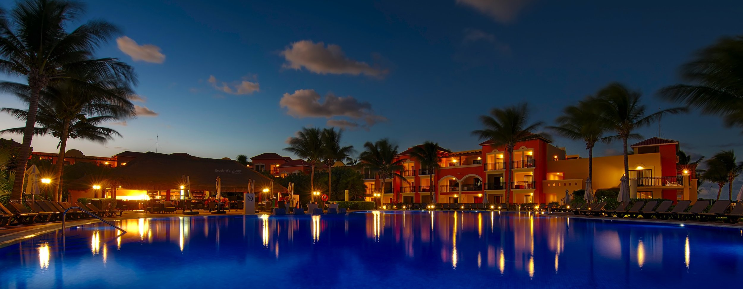 Mexican Blue Hour