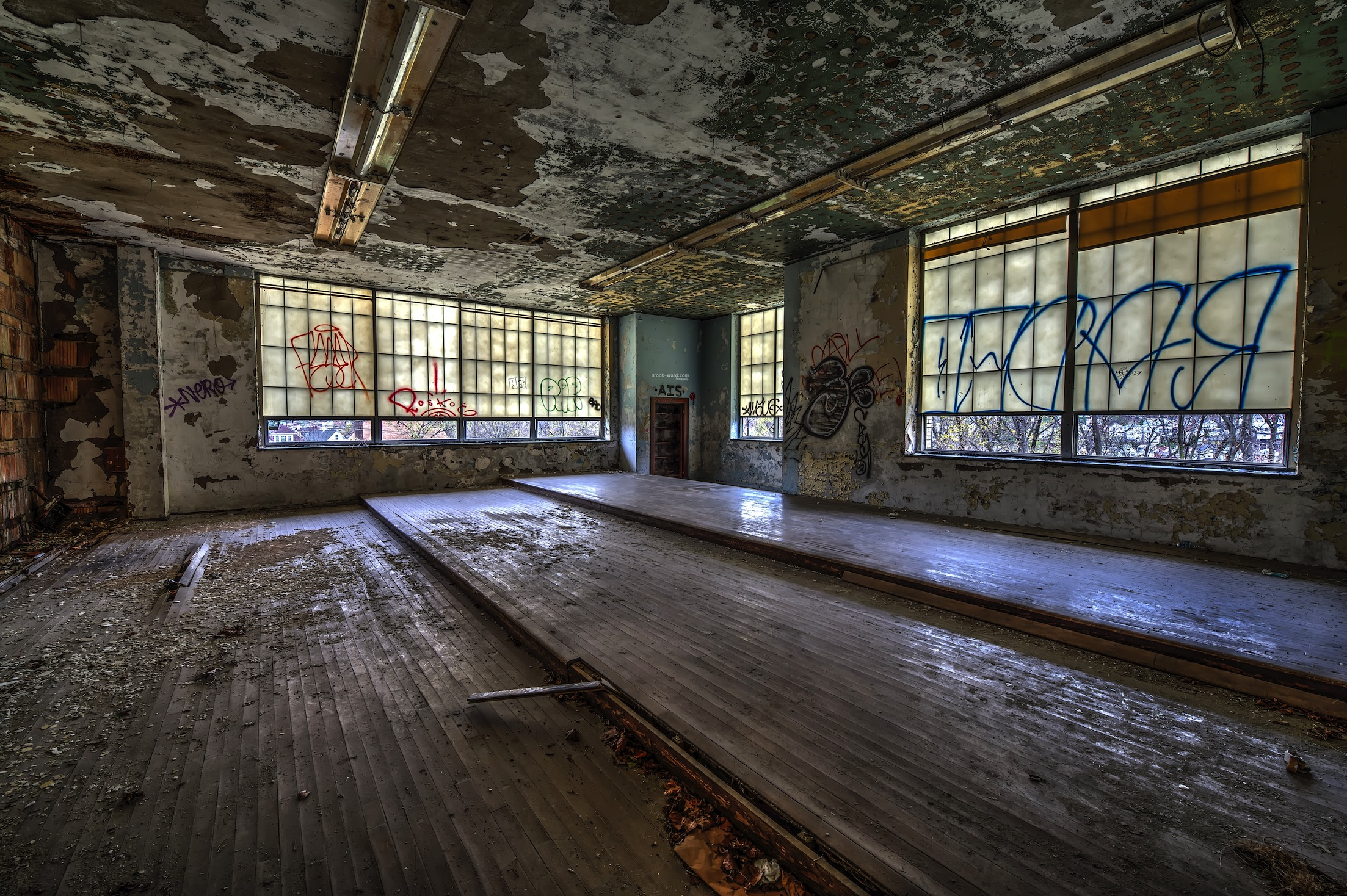 Band Room in the abandoned school