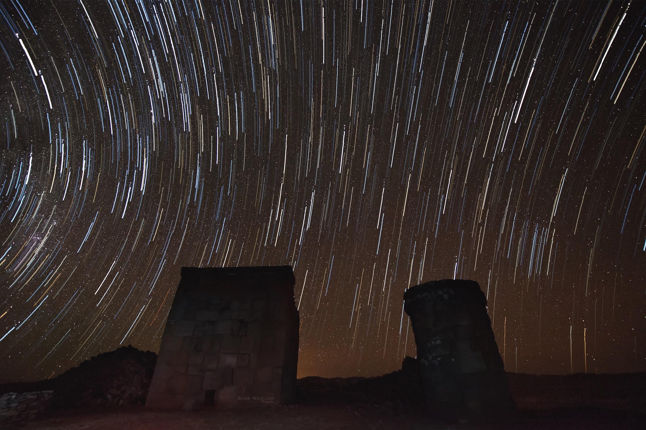 Peru Star Trails