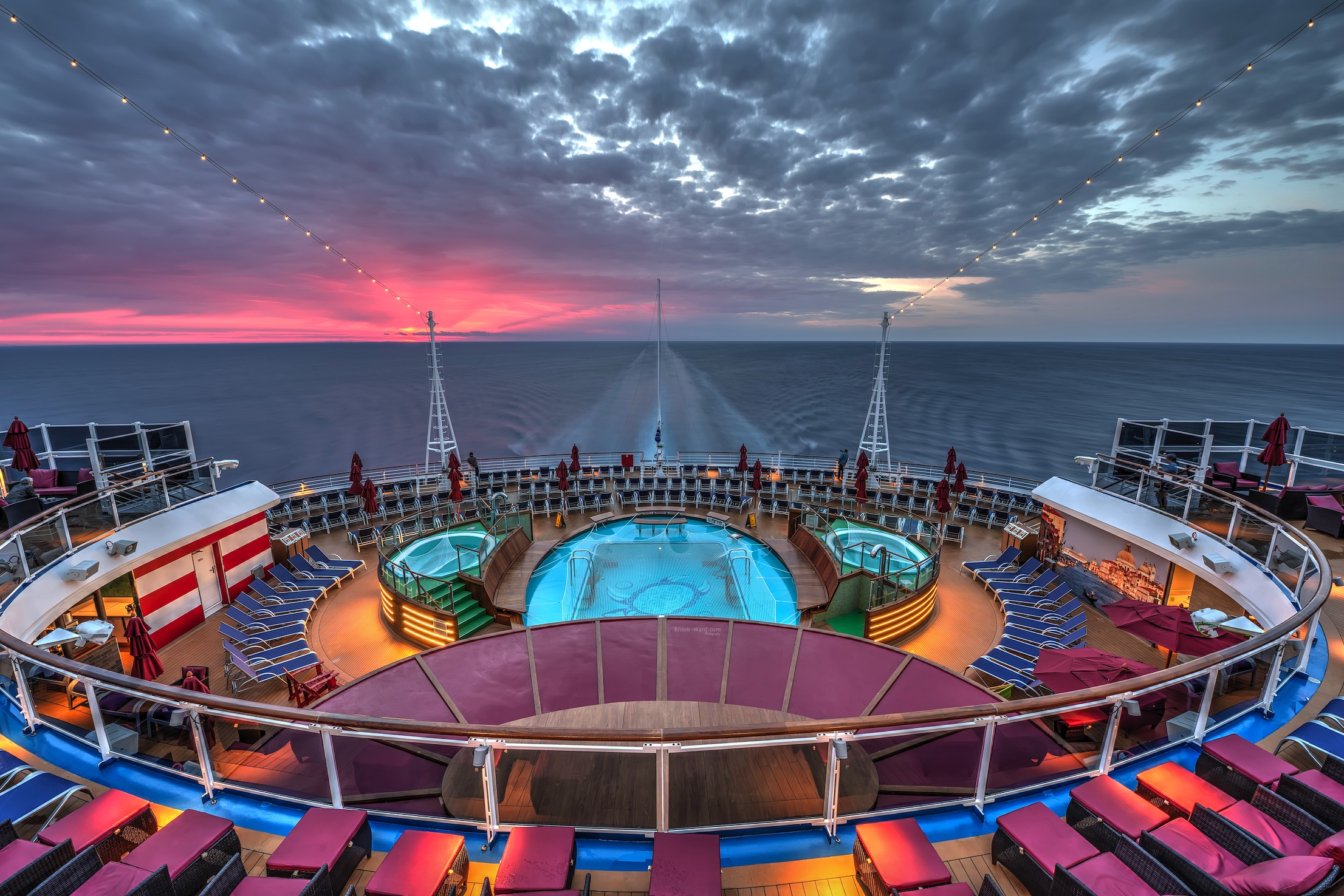Mediterranean Sunrise on Carnival Vista