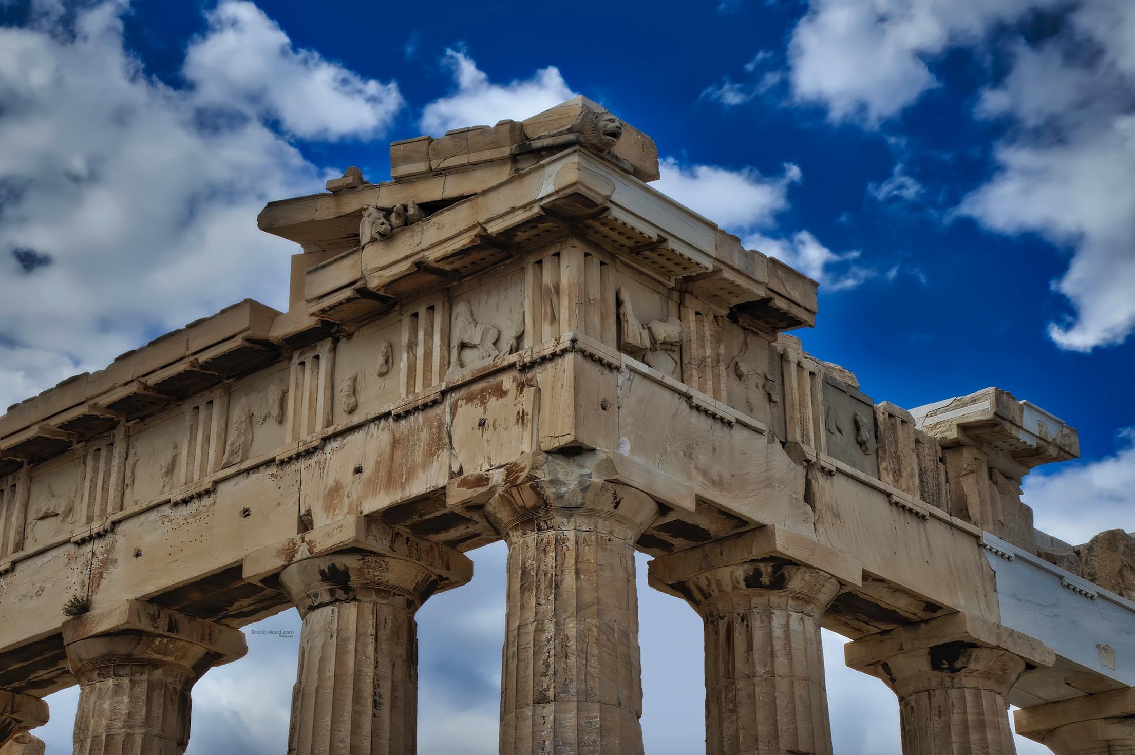 Details of Acropolis