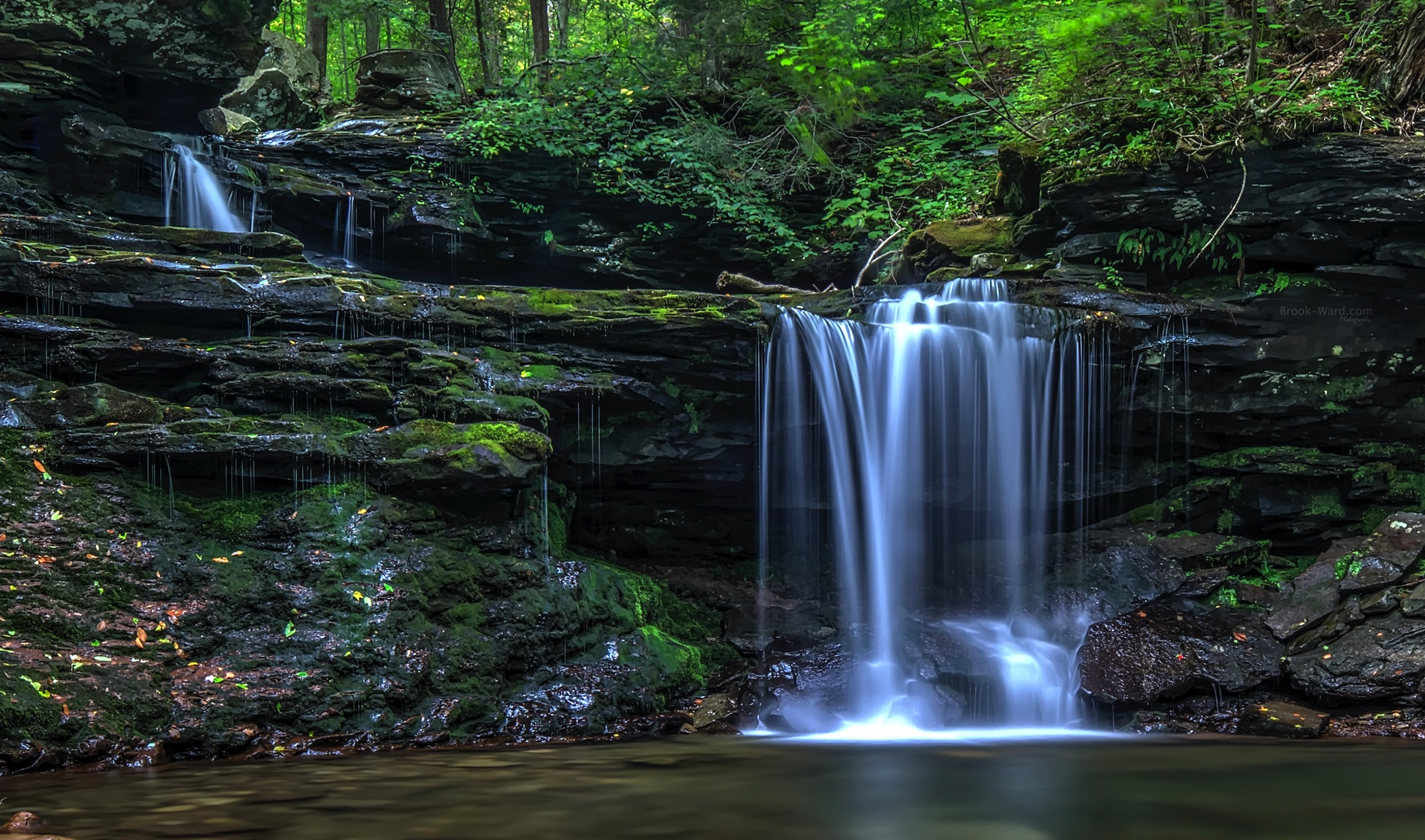 Great waterfall in a great state park