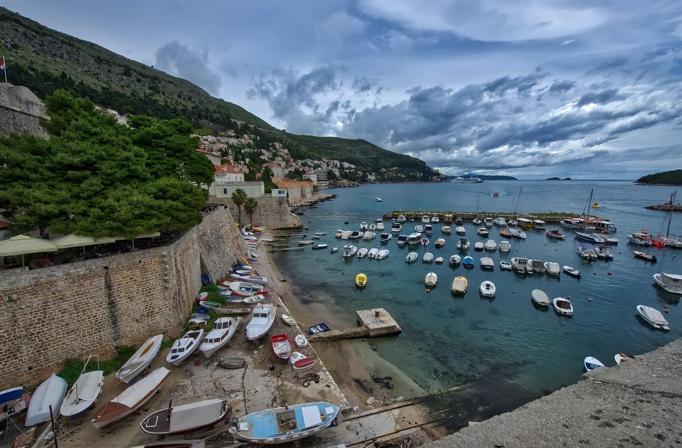 Dubrovnik's Marina