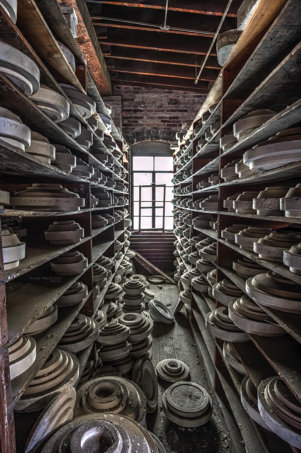 Abandoned China Factory